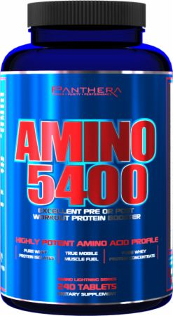 Panthera Pharma, Amino 5400, 240 таблеток