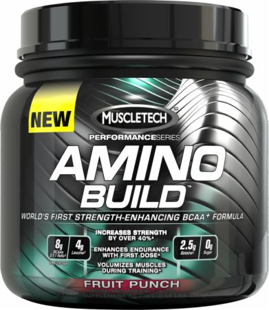 MuscleTech, AMINO BUILD, 30 порций