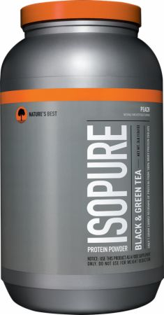 Nature's Best, Isopure Black & Green Tea, 1361 грамм