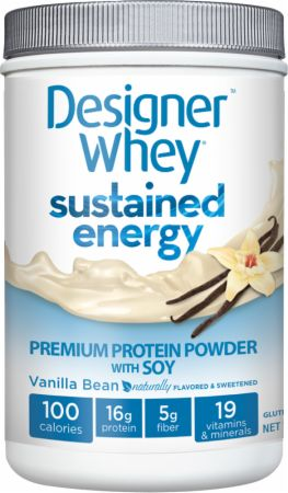 Designer Whey, Sustained Energy Premium Protein Powder, 681 грамм