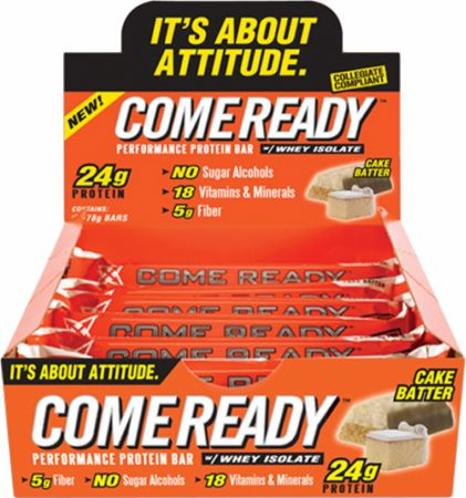 Come Ready Nutrition, Performance Protein Bars, 1 большой батончик