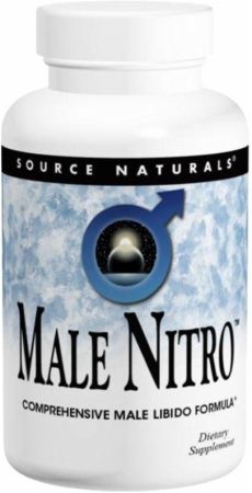 Source Naturals, Male Nitro, 120 таблеток