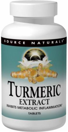 Source Naturals, Turmeric Extract, 100 таблеток