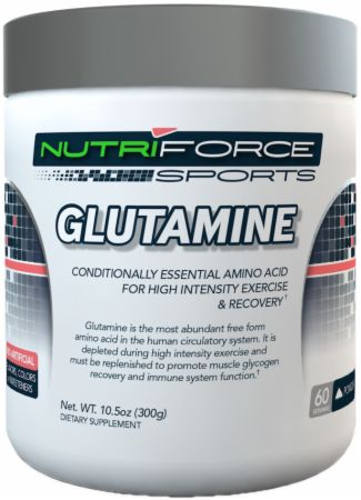 NutriForce Sports, Glutamine, 300 грамм