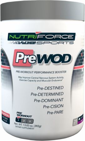 NutriForce Sports, PreWOD, 392 грамма