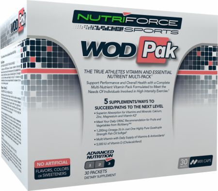 NutriForce Sports, WODPak, 30 упаковок
