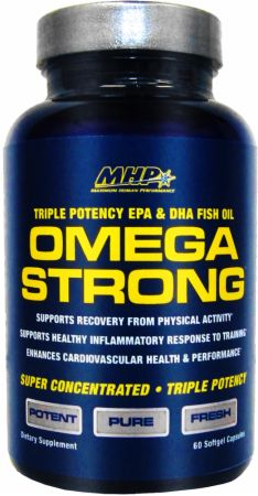 MHP, Omega Strong, 60 капсул