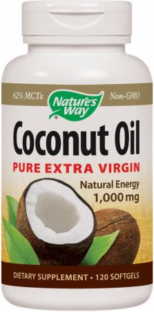 Nature's Way, Coconut Oil, 120 капсул