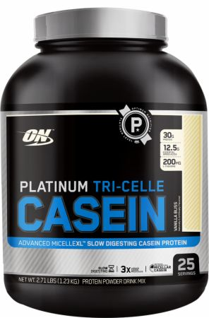 Optimum, Platinum Tri-Celle Casein, 25 порций