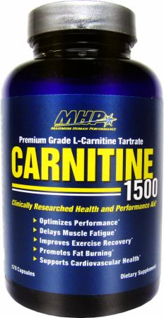 MHP, Carnitine 1500, 120 капсул