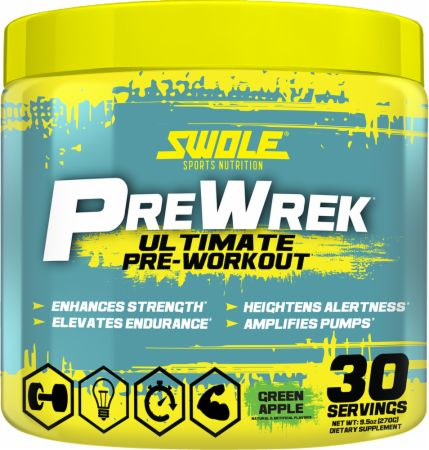 Swole Sports Nutrition, PreWrek, 50 порций