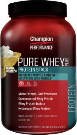 Champion, Pure Whey Plus, 2178 грамм