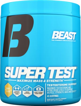 Beast Sports Nutrition, Super Test Powder, 360 грамм