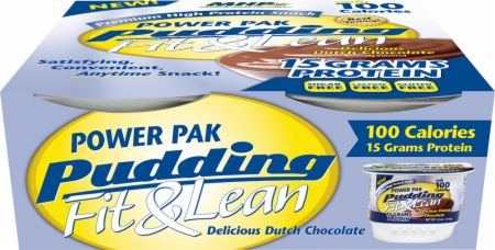 MHP, Fit & Lean Power Pak Pudding, 4 банки по 123гр.