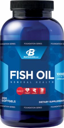 Bodybuilding.com Foundation Series, Fish Oil, 200 капсул