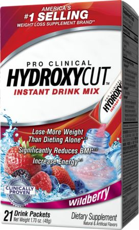 Hydroxycut, Pro Clinical Hydroxycut Drink Mix, 21 упаковка