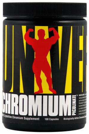 Universal Nutrition, Chromium Picolinate, 100 капсул
