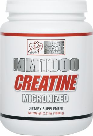 Mass Machine Nutrition, MM1000 Creatine, 1000 грамм