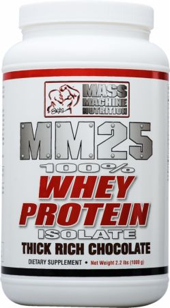 Mass Machine Nutrition, MM25 Whey Protein, 998 грамм