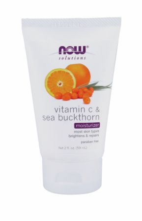 NOW, Vitamin C & Sea Buckthorn Moisturizer, 60 мл