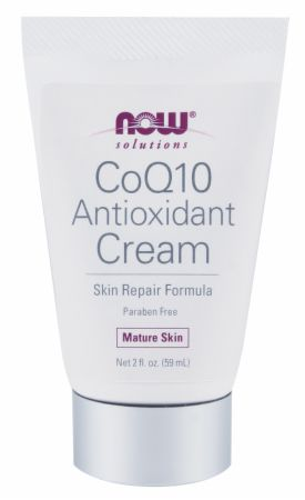 NOW, CoQ10 Antioxidant Cream, 60 мл