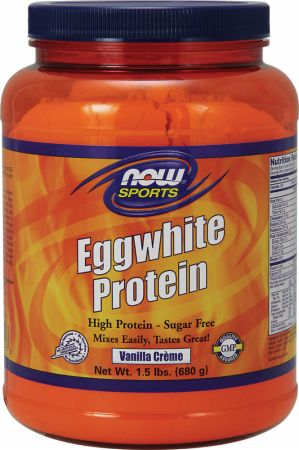 NOW, Eggwhite Protein, 681 грамм