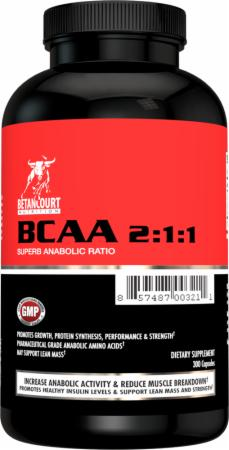 Betancourt Nutrition, BCAA 2:1:1, 300 капсул