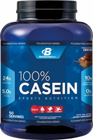 Bodybuilding.com Foundation Series, 100% Casein, 908 грамм