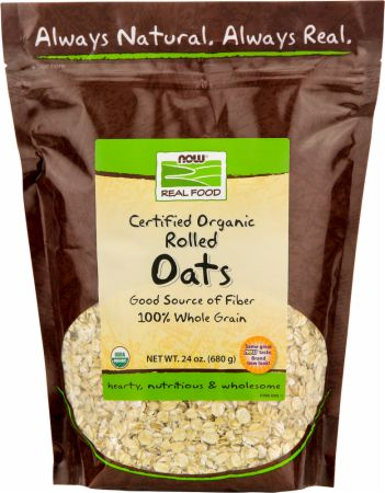 NOW, Rolled Oats, 681 грамм