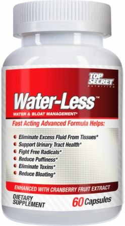 Top Secret Nutrition, Water-Less, 60 капсул