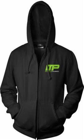 MusclePharm Sportswear, Raw Edge Full Zip Hoodie