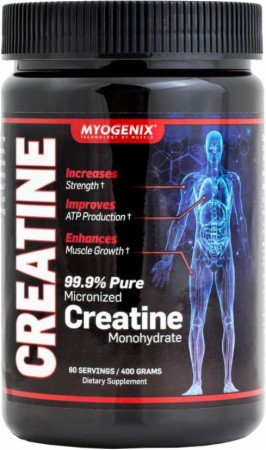 Myogenix, Creatine, 400 грамм