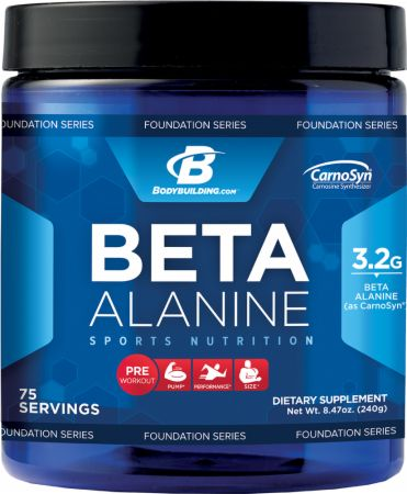 Bodybuilding.com Foundation Series, Beta Alanine, 75 порций