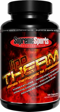 Supreme Sports Enhancements, LipoTherm, 120 капсул