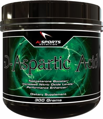 AI Sports Nutrition, D-Aspartic Acid, 300 грамм