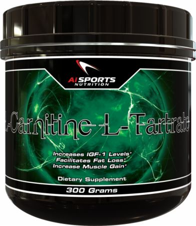 AI Sports Nutrition, L-Carnitine L-Tartrate, 300 грамм