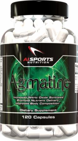 AI Sports Nutrition, Agmatine, 120 капсул