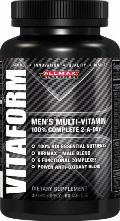 AllMax Nutrition, VITAFORM, 60 таблеток