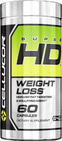 Cellucor, Super HD, 60 капсул