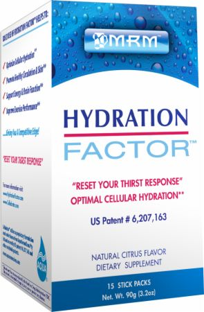 MRM, Hydration Factor, 15 упаковок
