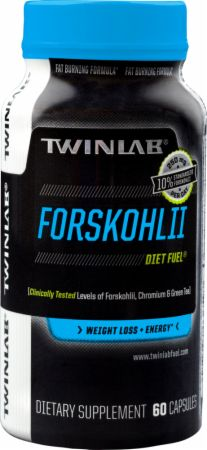 Twinlab, Forskohlii Diet Fuel, 60 капсул