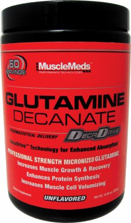 MuscleMeds, GLUTAMINE DECANATE, 300 грамм