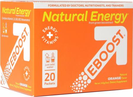 EBOOST, Natural Energy Booster, 20 упаковок