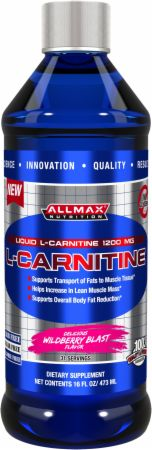 AllMax Nutrition, Liquid L-Carnitine, 474 мл
