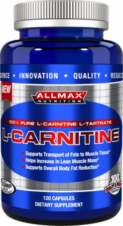 AllMax Nutrition, L-Carnitine, 120 капсул