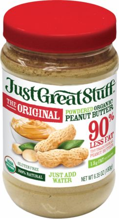 Betty Lou's, Organic Powdered Peanut Butter, 180 грамм