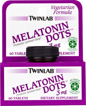 Twinlab, Melatonin Dots, 60 таблеток