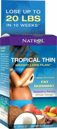 Natrol, Tropical Thin, 60 капсул