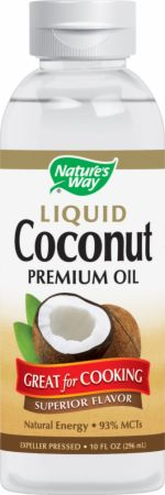 Nature's Way, Liquid Coconut Premium Oil, 296 мл