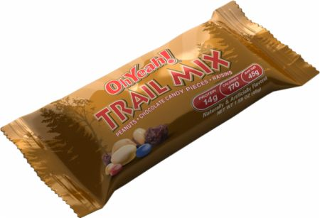 ISS Research, OhYeah! Trail Mix Bars, 10 - 45гр. батончиков